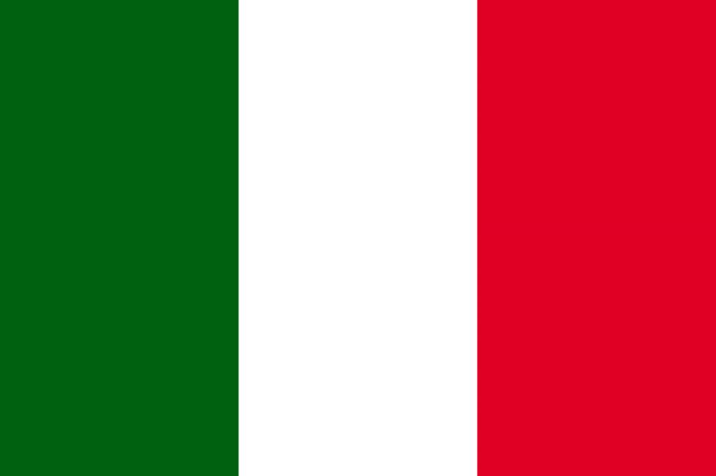 Bandera de Italia desde 2003