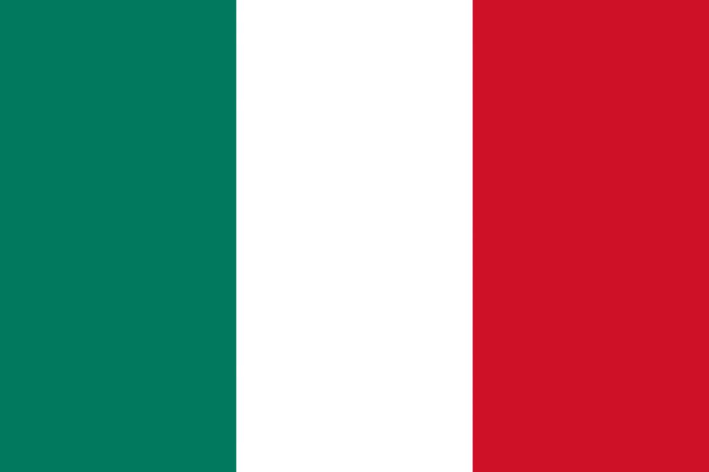 Bandera de Italia hasta 2003