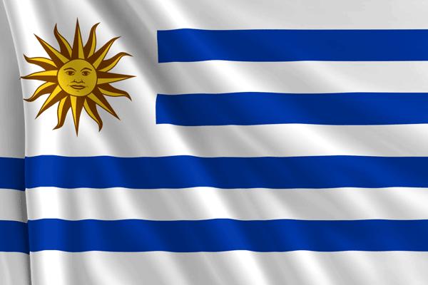 Bandera uruguaya