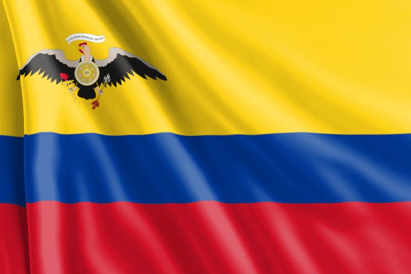 Bandera-confederación-de-Venezuela
