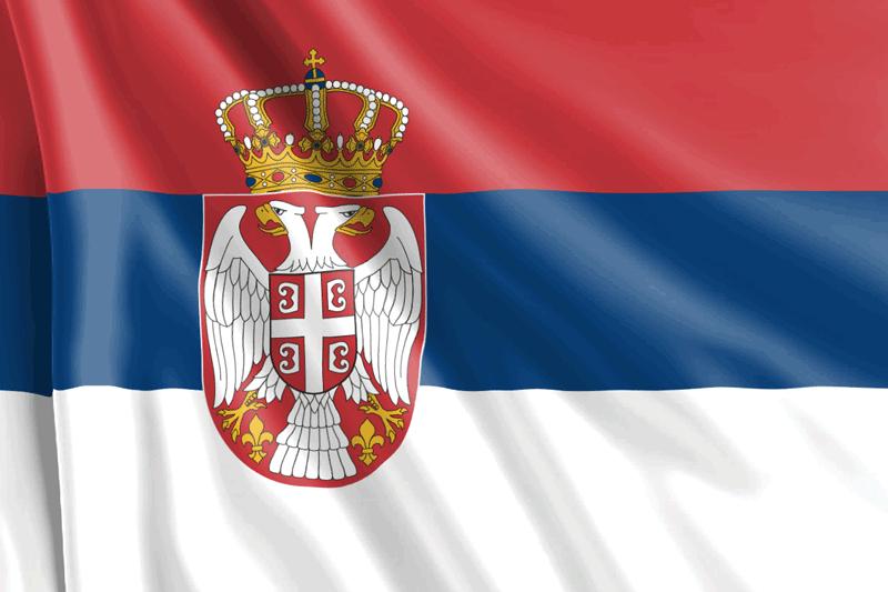 Bandera-de-Serbia