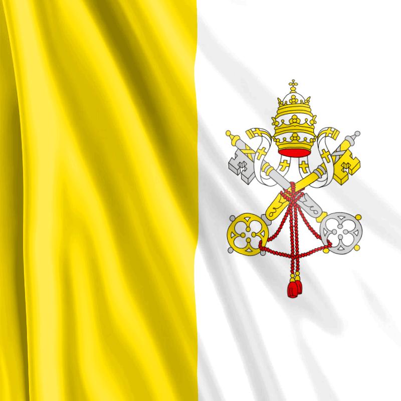 Bandera vaticana