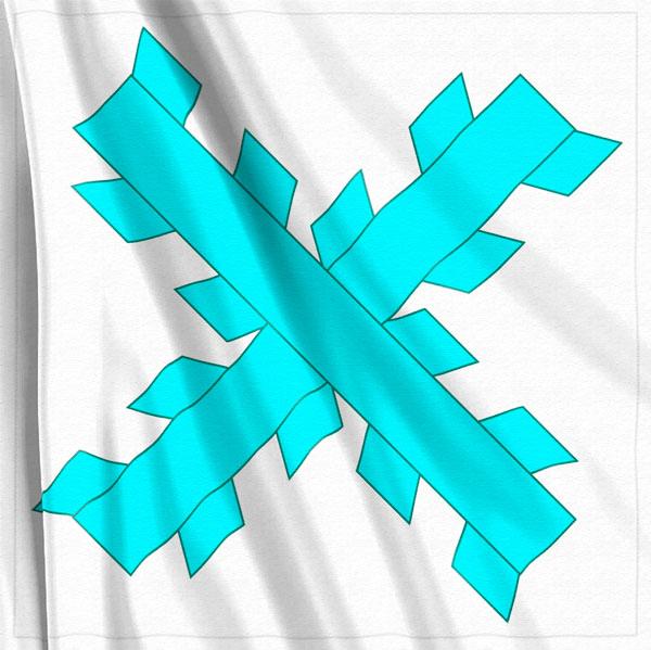 Bandera-Cruz-de-Borgoña-Azul-Insurgente-México