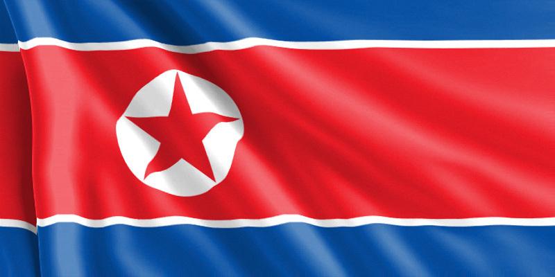 Bandera Corea del Norte
