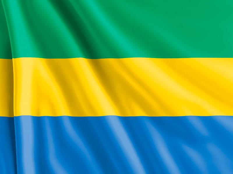 Bandera-Gabón