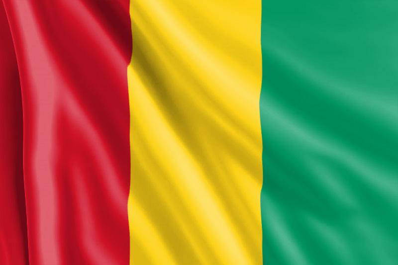 Bandera de Guinea