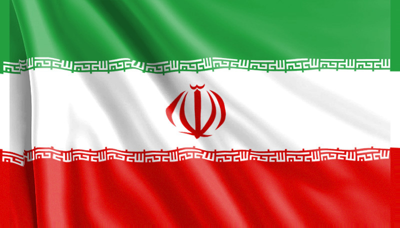 Bandera iraní
