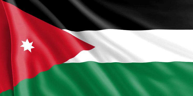 Bandera Jordania