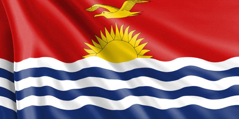 Bandera Kiribati