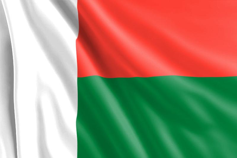 Bandera de Madagascar