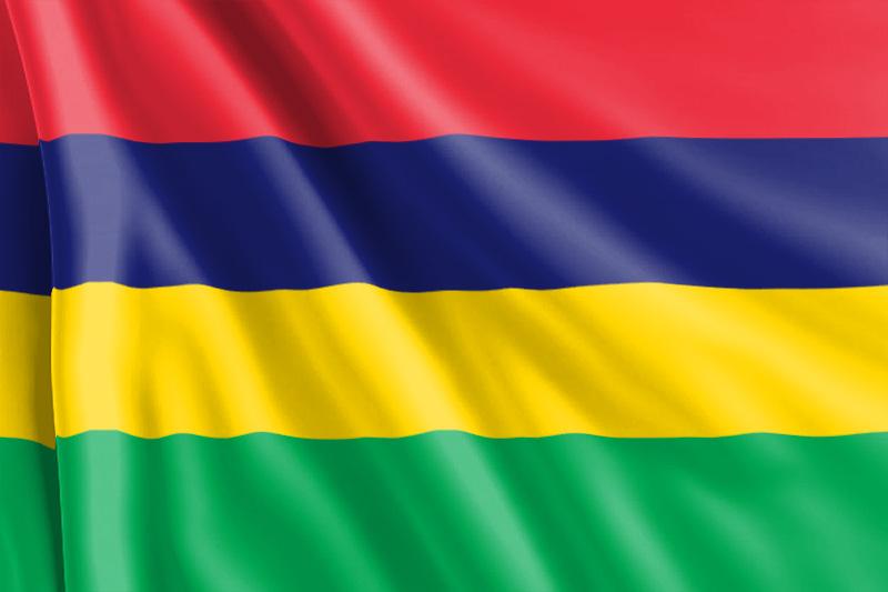 Bandera de Mauricio