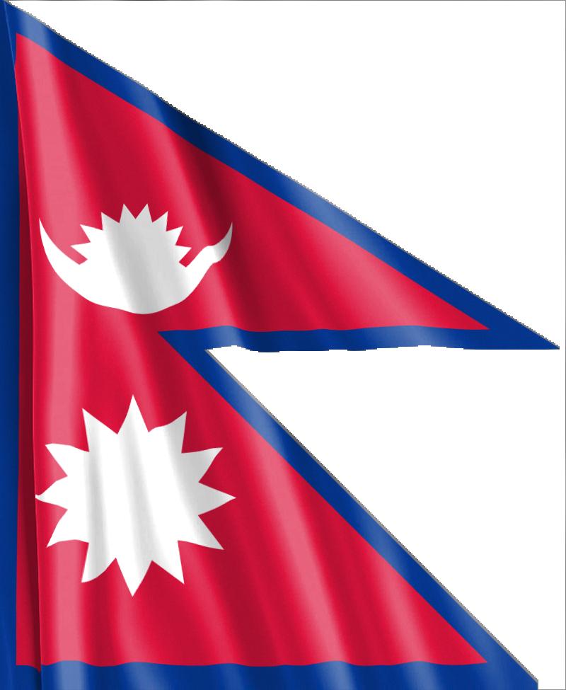 Bandera Nepalí
