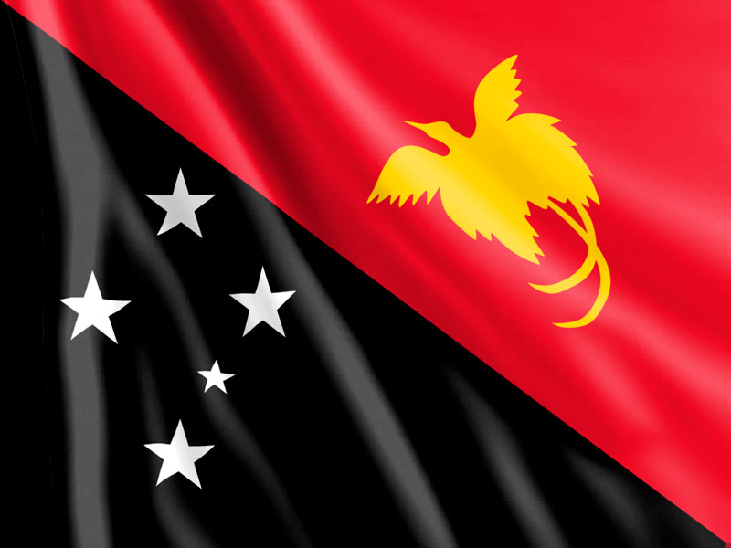 Bandera-Papua-Nueva-Guinea