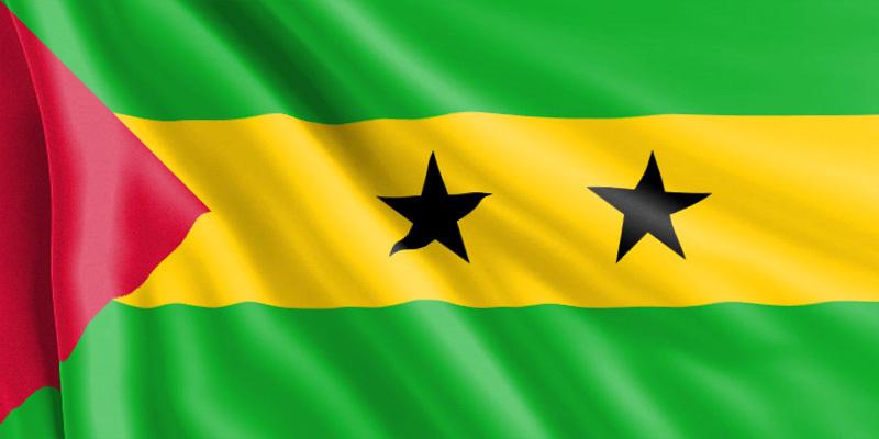 Bandera de Santo Tome y Príncipe