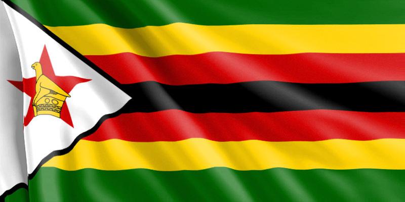 Bandera Zimbabue