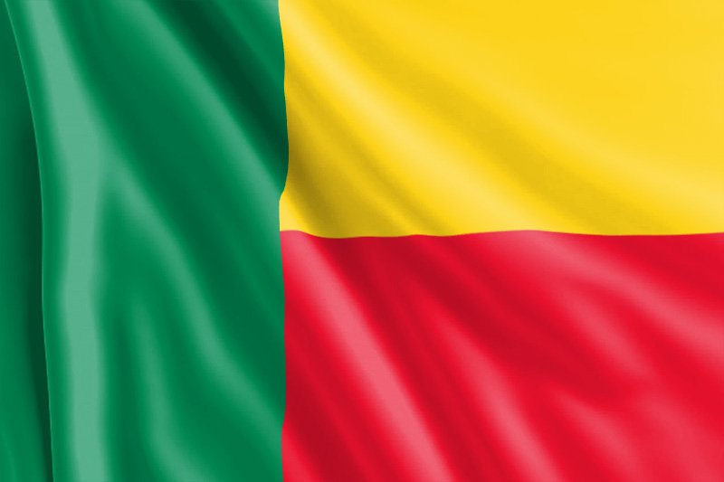 bandera de Benín