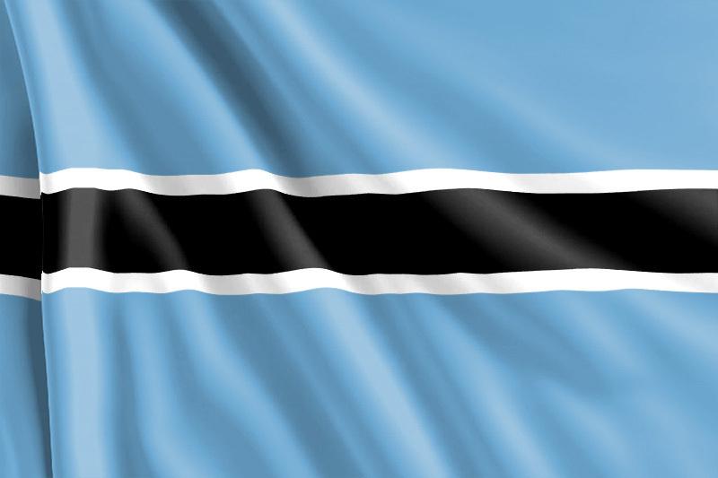 bandera de Botsuana